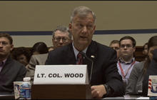 Lt. Col. Wood testifies that more security was needed in Libya