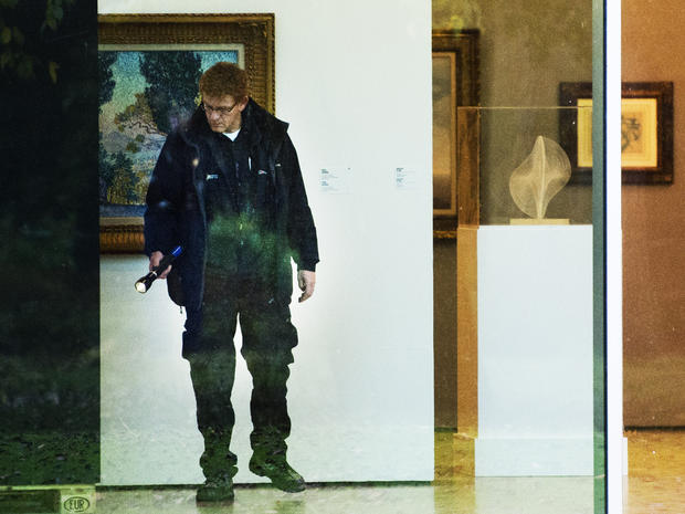 Modern art heist at Dutch museum