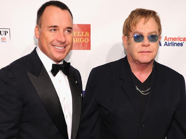 Stars step out for Elton John AIDS Foundation benefit