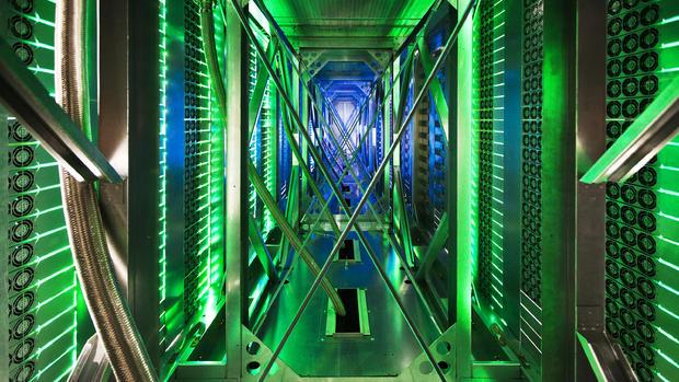 Tour Google's secret global data centers