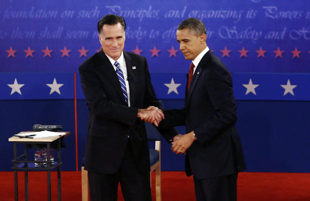 Obama, Romney square off in second debate