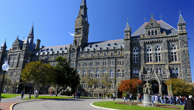 georgetown university confronts its slave history cbs news