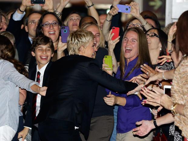 Ellen DeGeneres receives top humor prize
