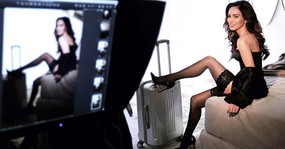 Megan Fox gets super sexy for Sharper Image - CBS News