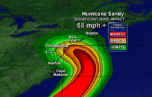 Hurricane Sandy landfall: Where and when?