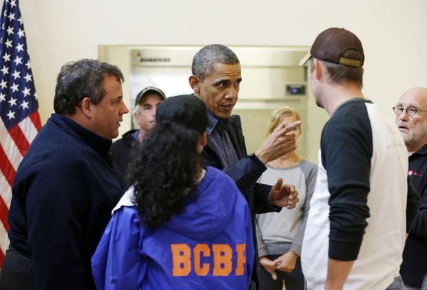 Chris Christie, Barack Obama