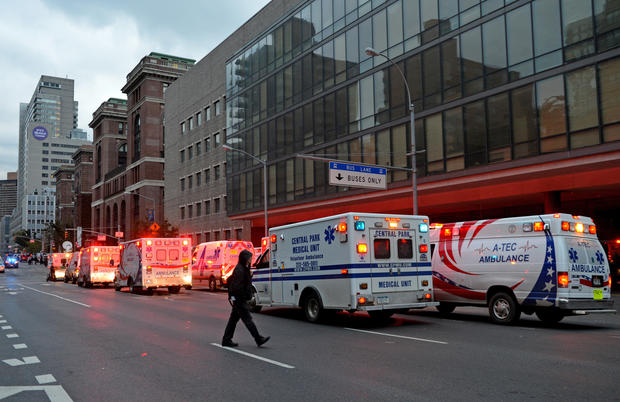 NYC hospitals evacuated for superstorm - Photo 1 - Pictures