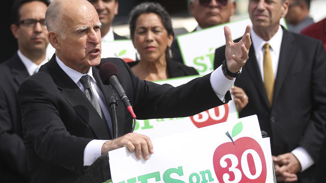Gov. Jerry Brown on Prop 30