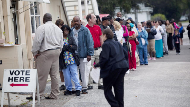 Bellwether voters cast ballots in Fla.