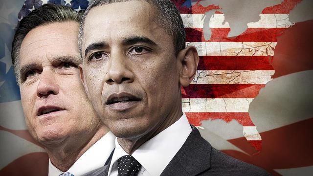 Barack Obama Mitt Romney us electoral map