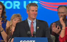 """Scott Brown in concession speech: """"Defeat is only temporary"""""""