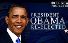 CBS News projects Obama wins re-election