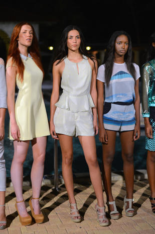 Charlotte Ronson shows collection in Aruba