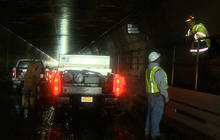 """""""Unwatering"""" a flooded NYC tunnel"""