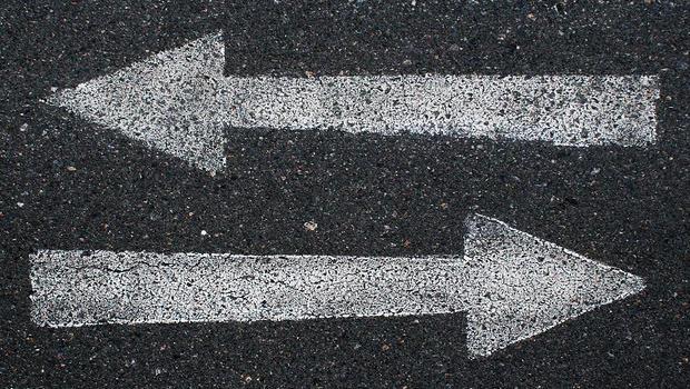 Confusing arrows