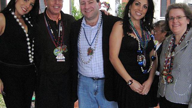 Jill Kelley,  David Petraeus,  Scott Kelley,  Holly Petraeus, Natalie Khawam