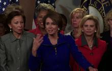 "Pelosi, Dem women jeer ""offensive"" question about her age"