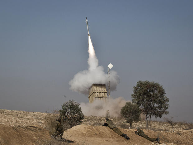 Iron Dome anti-missile station