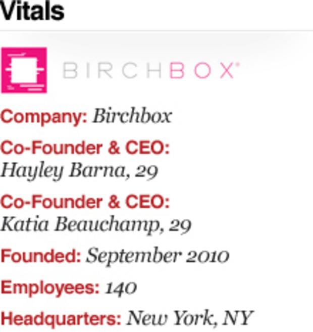 Birchbox: Success in small packages