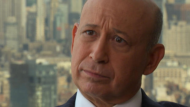 Goldman Sachs CEO Lloyd Blankfein says lawmakers must address entitlements and increase revenue to reduce the federal budget deficit.