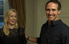 Drew Brees: Love at first sight