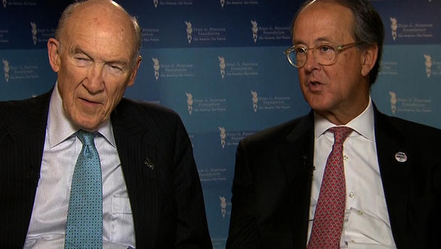 Alan Simpson and Erskine Bowles tell CBS News that sacrifice must come from everyone for budget negotiations to be successful.