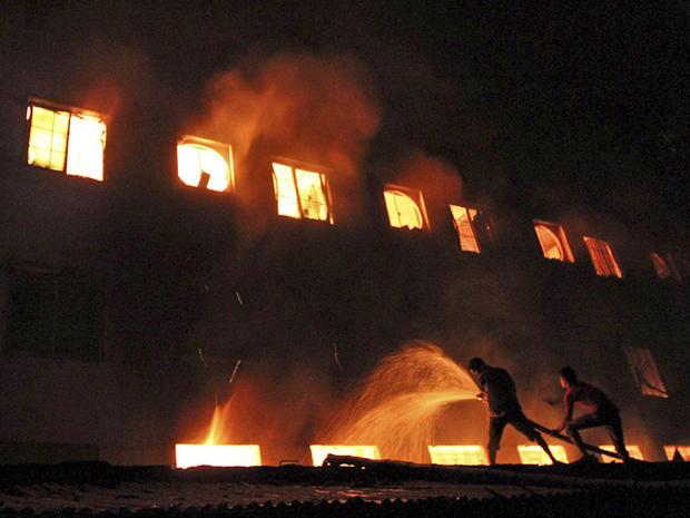 Death toll in Bangladesh garment factory fire rises - CBS News