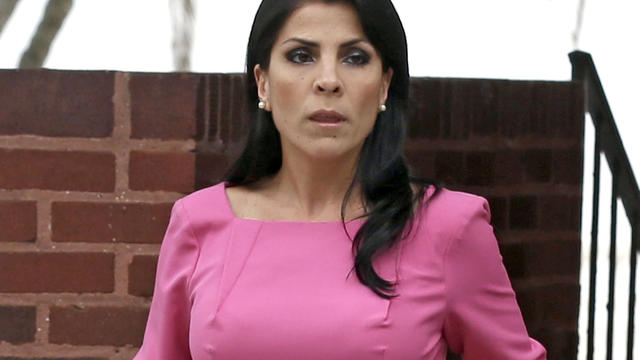 Jill Kelley leaves her home in Tampa, Fla