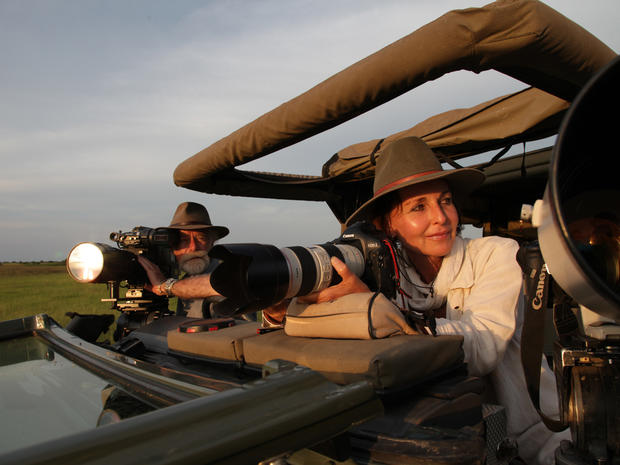 Behind-the-scenes on a 60 Minutes safari