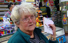 Sandy victims hope for Powerball winnings