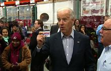 Biden does some holiday shopping at Costco