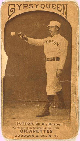 Baseball cards from 1880s-1910s