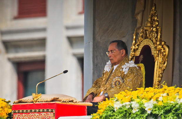 King of Thailand celebrates 85th birthday