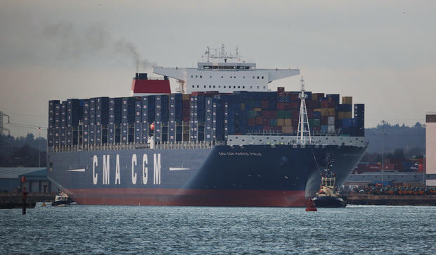 World's biggest container ship