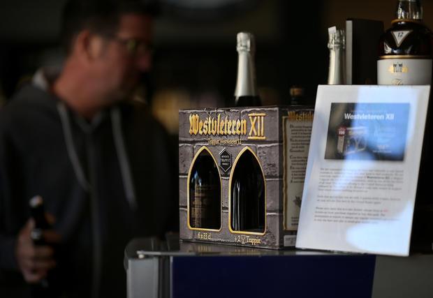 Beer brewed by monks