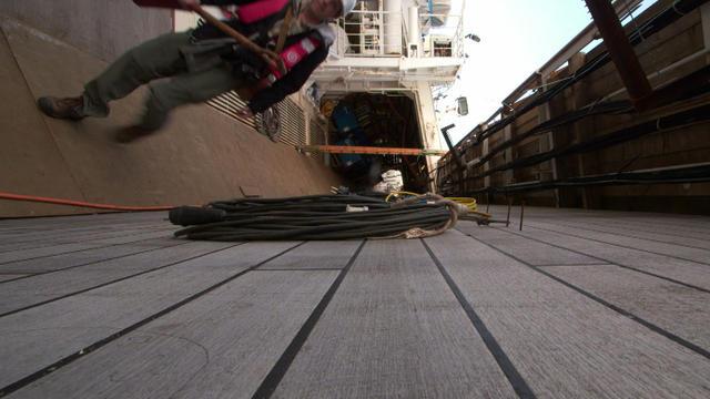 A world askew: On board the Costa Concordia