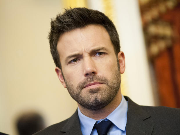 Ben Affleck speaks to House committee in D.C.