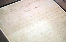 Rare look at the Emancipation Proclamation