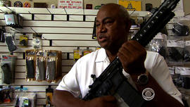 Chuck Nesby, an instructor at Nova Firearms in Falls Church, Va., said they nearly sold out of AR-15s and high-capacity magazines after the shooting in Newtown.
