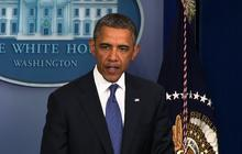 "Obama: ""Modestly optimistic"" a ""fiscal cliff"" deal still possible"