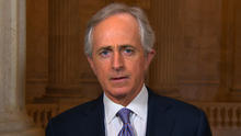 """Sen. Corker on """"fiscal cliff"""" situation: """"It's a travesty"""""""