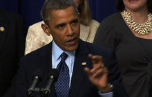 "Obama: Deal to avert ""fiscal cliff"" is ""within sight"""