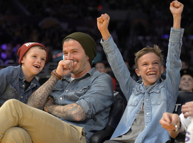David Beckham's long, multifaceted career