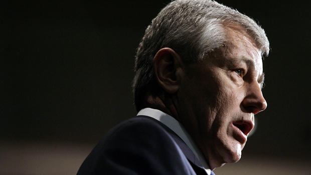 Then-U.S. Sen. Chuck Hagel (R-NE) addresses the National Newspaper Association's Government Affairs Conference March 22, 2007 in Washington, DC.
