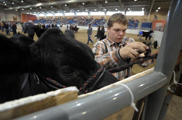 Pa. farm show draws crowd