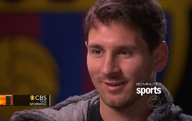 """Lionel Messi gives rare interview on """"60 Minutes Sports"""""""