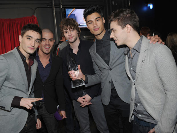 People's Choice Awards 2013 backstage