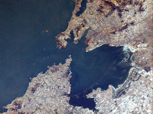 Stunning Twitpics from space