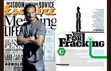 """""""Thank You for Fracking,"""" Esquire magazine, by Tom Chiarella"""