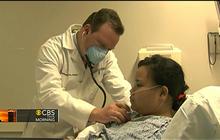 Flu outbreak swamps hospitals nationwide
